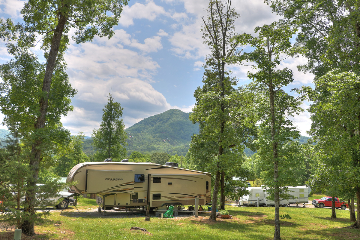 Pigeon Forge Rv Park Campground Swimming Fishing